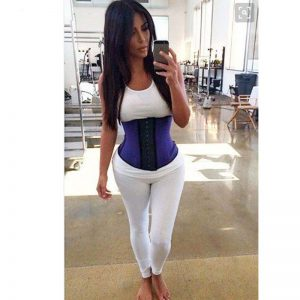 Kim Kardashian waist trainer celebrities 2