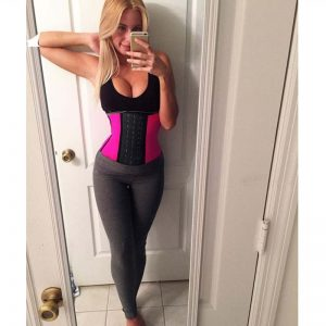 Kim Kardashian waist trainer celebrities 3
