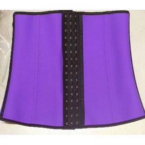 Kim Kardashian waist trainer purple color 2