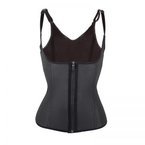 Latex Waist Trainer Zip and Cip Vest Sample 2