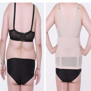 6eeceb25746 P505 6XL 7XL Extra Large Slimming Waist Trainer Corset Vest before and  after 2