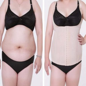 ee21971a01b P505 6XL 7XL Extra Large Slimming Waist Trainer Corset Vest before and after