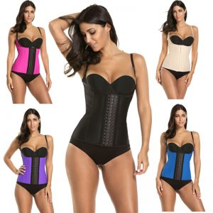 P506 Colombian Latex Waist Trainer Vest with Straps Perfect Curves Cincher for Weight Loss Example