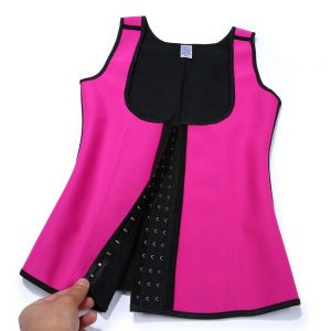 P507 Workout Latex Colombian Waist Trainer Vest Steel-Boned Slimming Cincher Corsets Material Sample