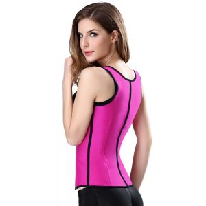 P507 Workout Latex Colombian Waist Trainer Vest Steel-Boned Slimming Cincher Corsets Sample 5