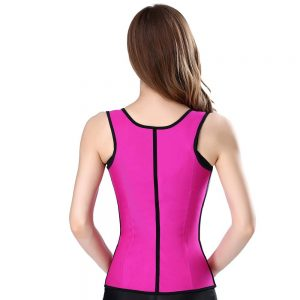 P507 Workout Latex Colombian Waist Trainer Vest Steel-Boned Slimming Cincher Corsets Sample 6