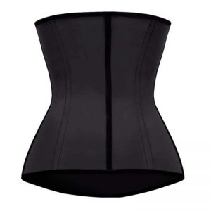 p503 latex waist trainer with zipper back color