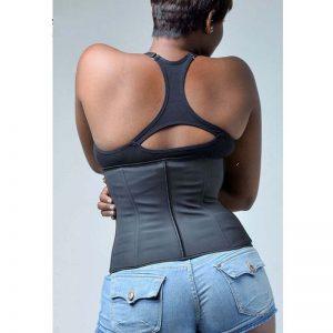 p503 latex waist trainer with zipper celebs 1