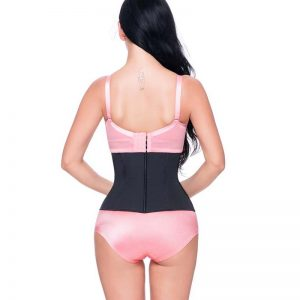p503 latex waist trainer with zipper product 3