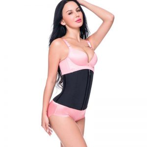 p503 latex waist trainer with zipper product