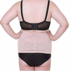 P 511 Plus Size Women Latex Waist Trainer for Weight Loss Best Sports Steel Boned Cinchers display 6