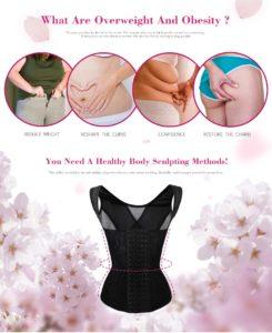 P508 Colombian Waist Trainer For Women Slimming Underwear Shaper Trainer Corset Vest Effects