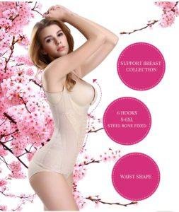 P508 Colombian Waist Trainer For Women Slimming Underwear Shaper Trainer Corset Vest Features