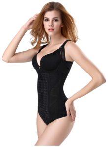 P508 Colombian Waist Trainer For Women Slimming Underwear Shaper Trainer Corset Vest Product Black Beside