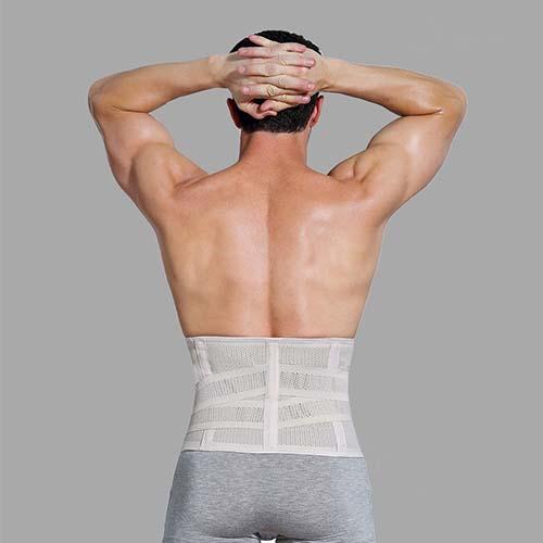 P517 Male Sports Corset Waist Trainer Best Men Slimming Waist Cinchers Belt During Workout product 5