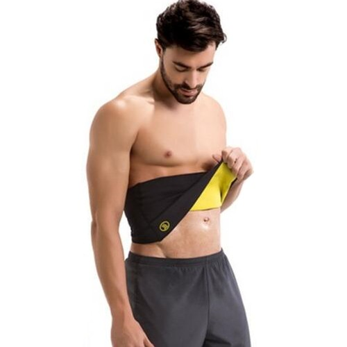 P519 Male Waist Trainer Belt High Compression Burn Fat Body Shapers Band for Weight Loss Product 5