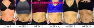 latex waist trainer before and after result 4