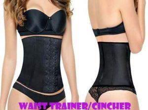 what's waist training cincher front and back shop4fun