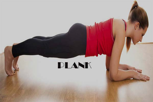 waist trainer exercises- plank workout