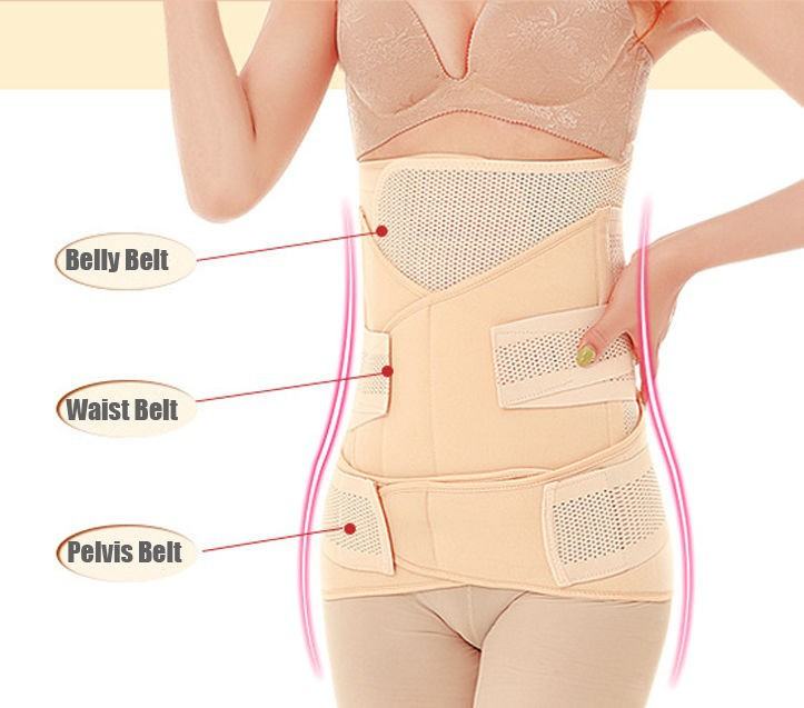 P531 C-section Waist Training 3-in-1 Recovery Abdominal
