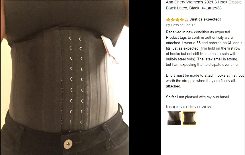 what size ann chery waist trainer should i get